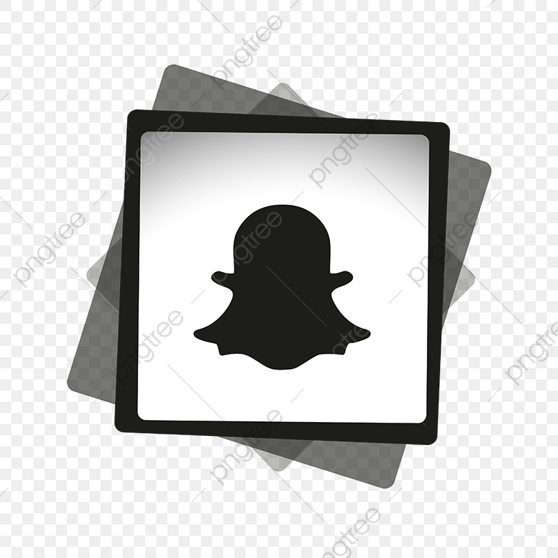 Snapchat Black White Icon Snapchat Logo Snapchat Icons Logo Icons Black Icons Png And Vector With Transparent Background For Free Download