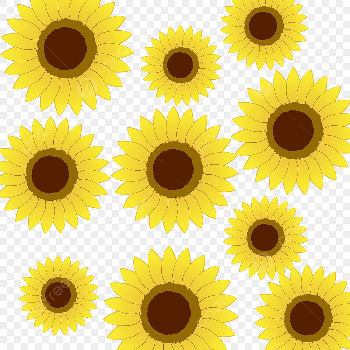 Spring Flowers Background Clip Art