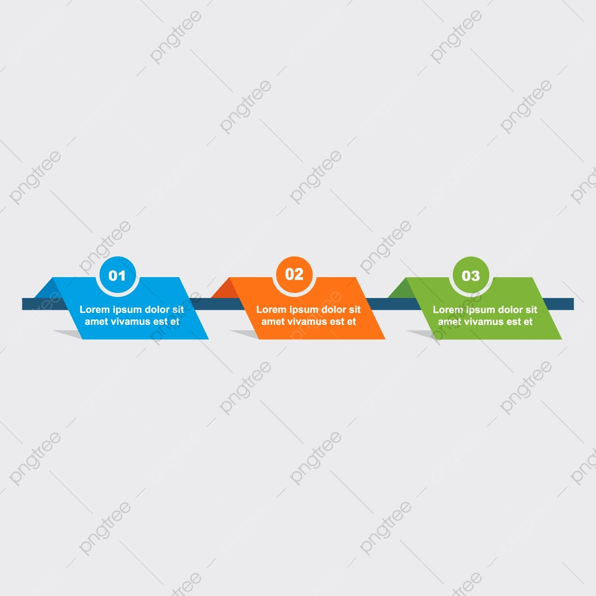 Three Step Infographics, Infographic, Banner, Chart PNG and