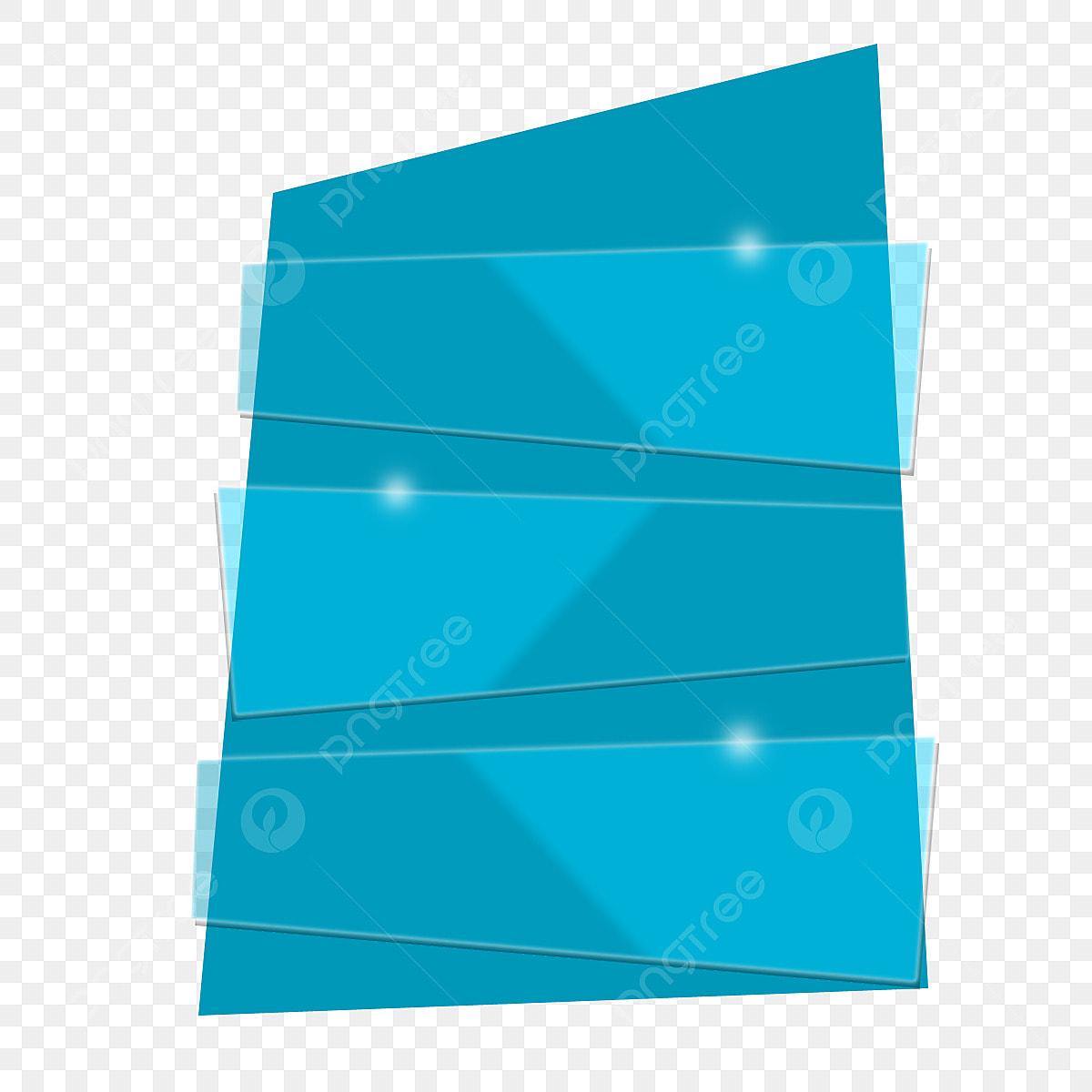 Vector Banner Ribbon Glass Effect, Vector Banner Ribbon
