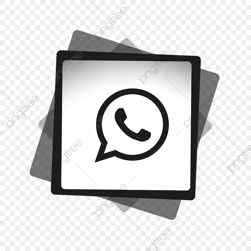 Whatsapp Black White Icon Whatsapp Logo Whatsapp Icon Whatsapp Icons Logo Icons Black Icons Png And Vector With Transparent Background For Free Download