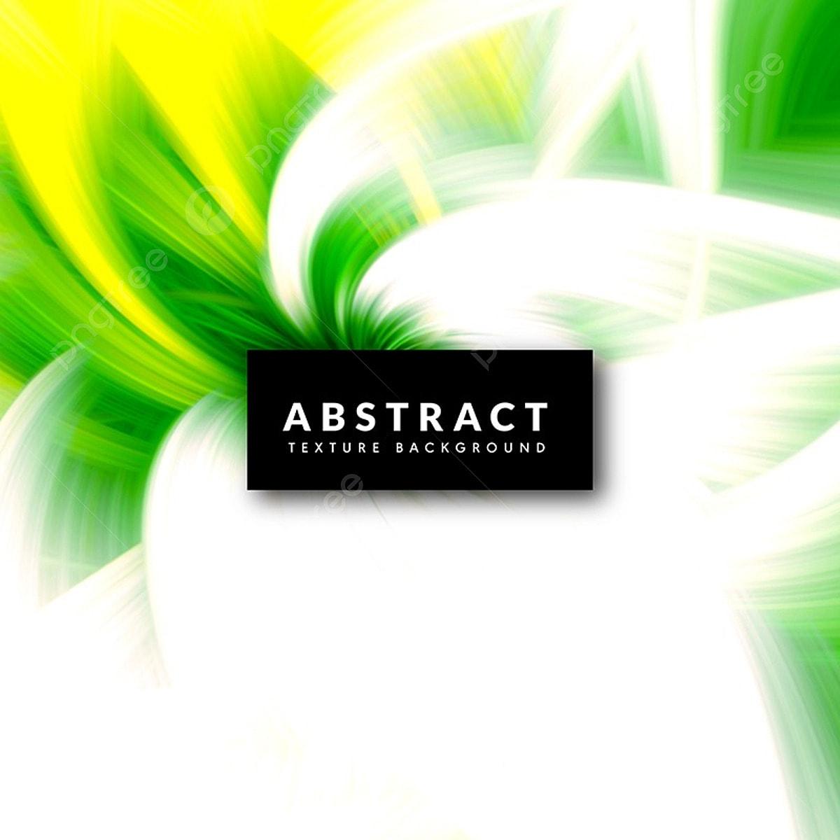 Bianco Verde E Giallo Piuma Effetto Sullo Sfondo Bianco Verde E
