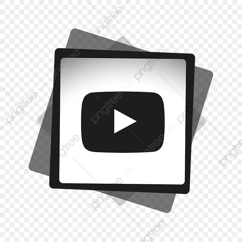 Youtube Black White Icon Youtube Icon Youtube Logo