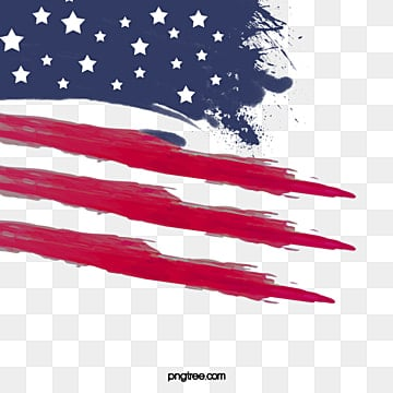 brush american flag ink border, Soldier, Creative, National Flag PNG and PSD