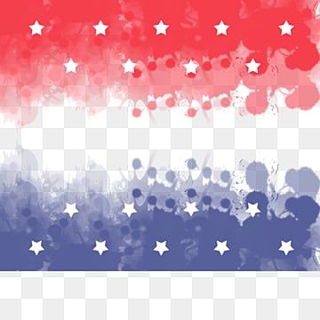 Brush American Flag Ink Spotting Border, Soldier, Creative, National Flag PNG and PSD