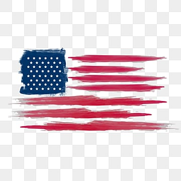 brush american flag ink style border, Soldier, Creative, National Flag PNG and PSD