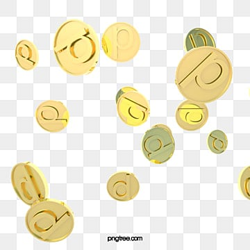 gold texture mobile scattered financial gold coins, Wealth, Texture, Gold Coin PNG and PSD