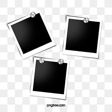 polaroid office supplies photographic paper elements, Office Supplies, Thumbtack, Polaroid PNG and PSD