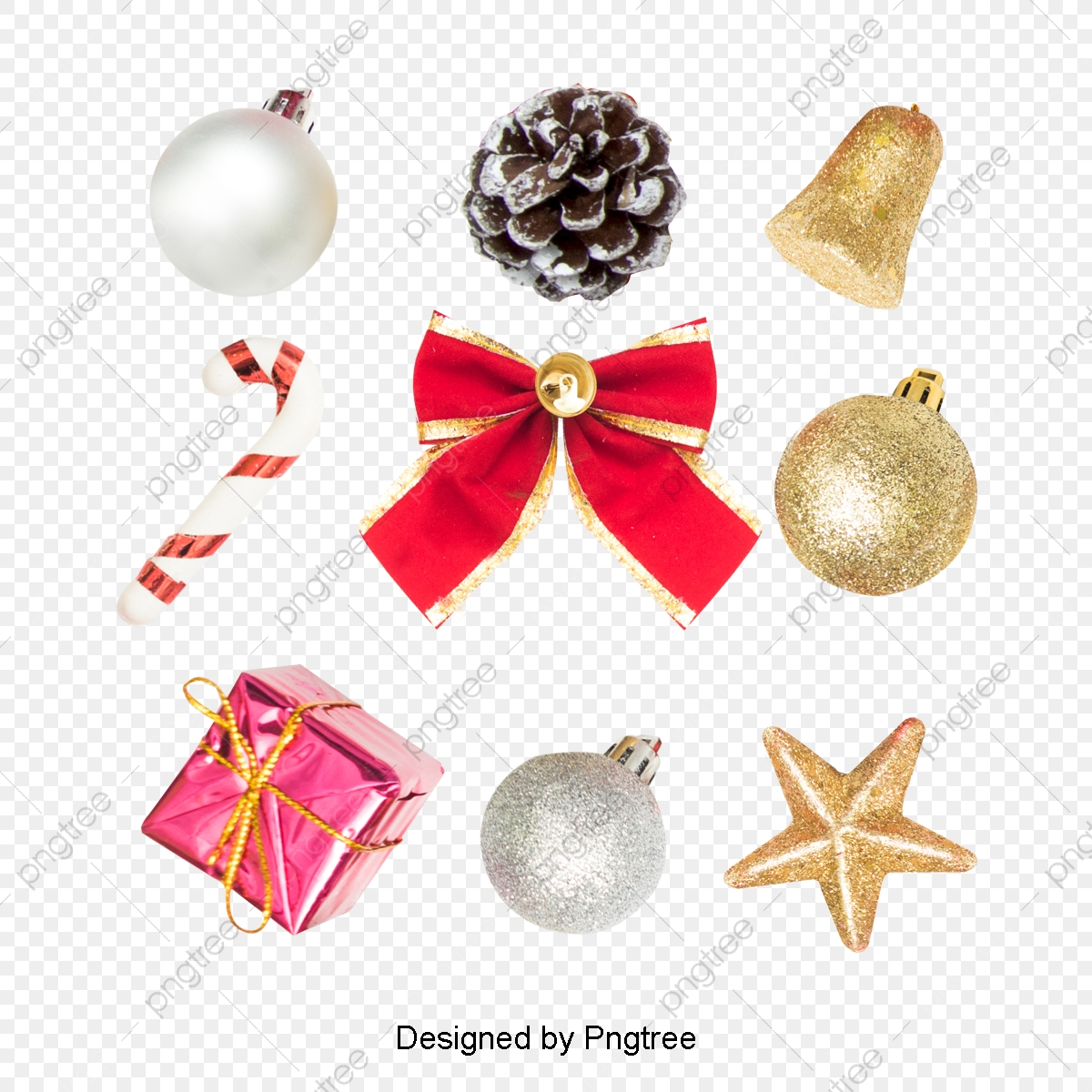 Christmas Decorations Png.A Collection Of Christmas Decorations Christmas Gifts