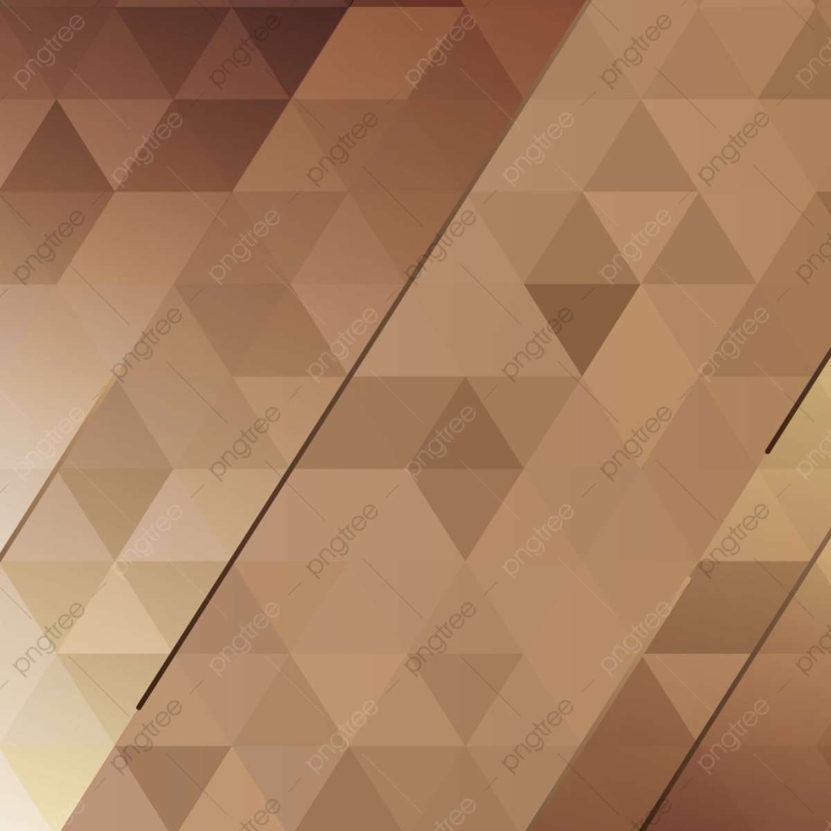 Abstract Background Of Brown Triangles, Abstract