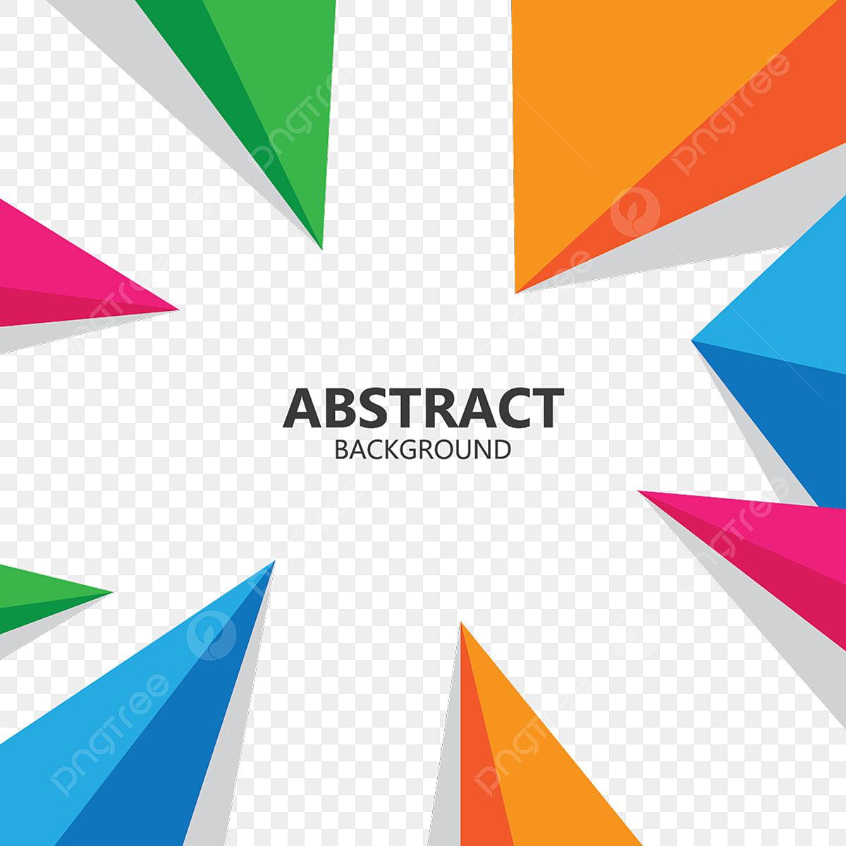 Abstract Geometric Polygonal Shape Background Illustration