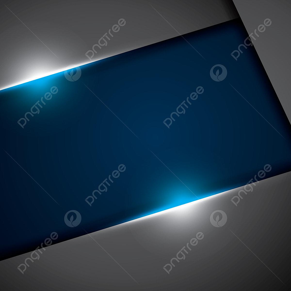 Blu Metallizzata Nera Design Astratto Concetto Innovativo Sfondo