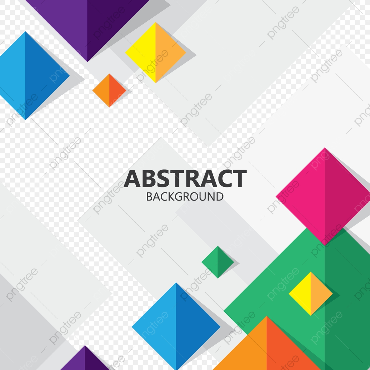 Abstract Square Colorful Geometric Background Vector Geometric Backdrop Modern Png And Vector With Transparent Background For Free Download