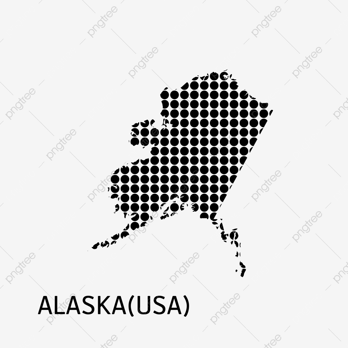 Alaska Usa Map Icon, Alaska, Usa, Map PNG and Vector with ...