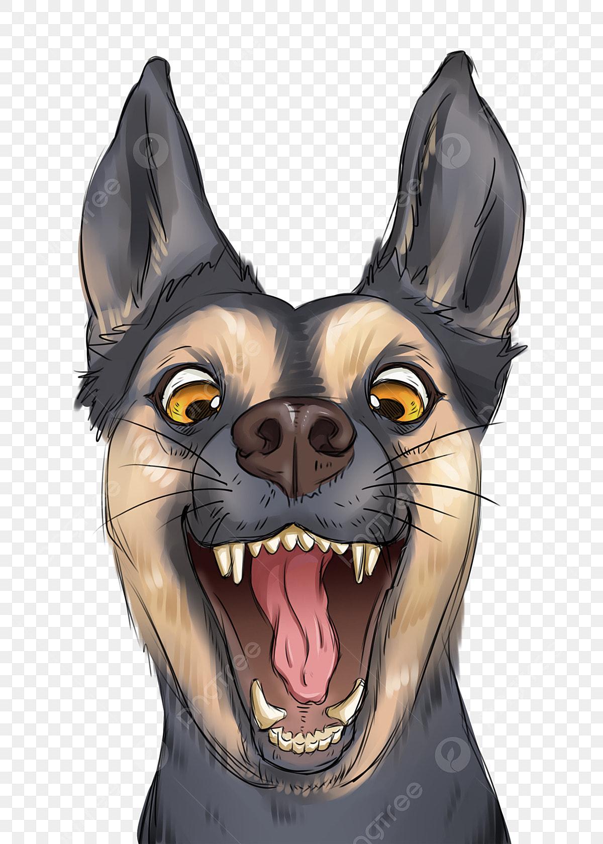 Смешная собака | Бесплатно векторы