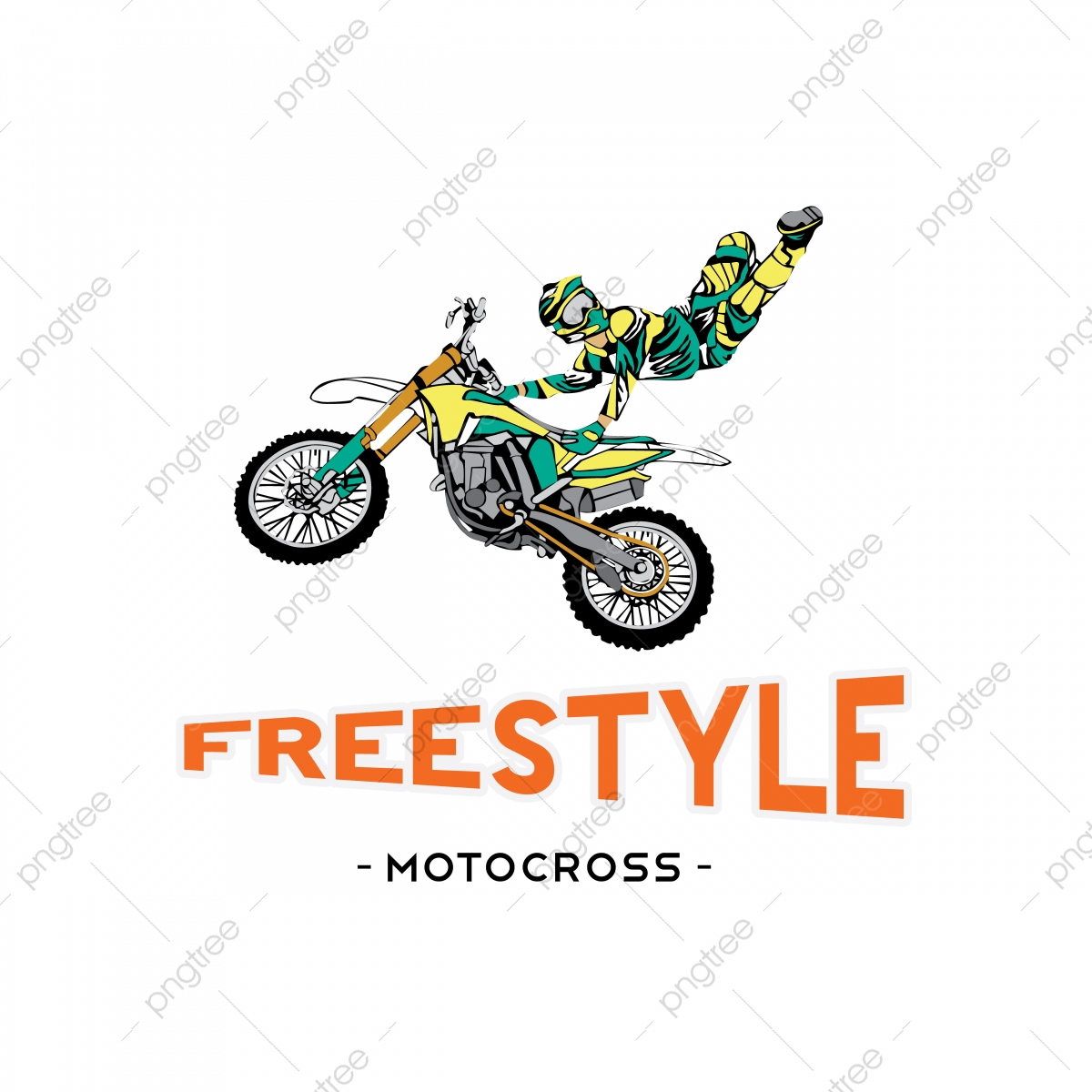 Background Material Design For Cross Country Motorcycle Freestyle Motocross Motocross Motorcycle Vector Png And Vector With Transparent Background For Free Download
