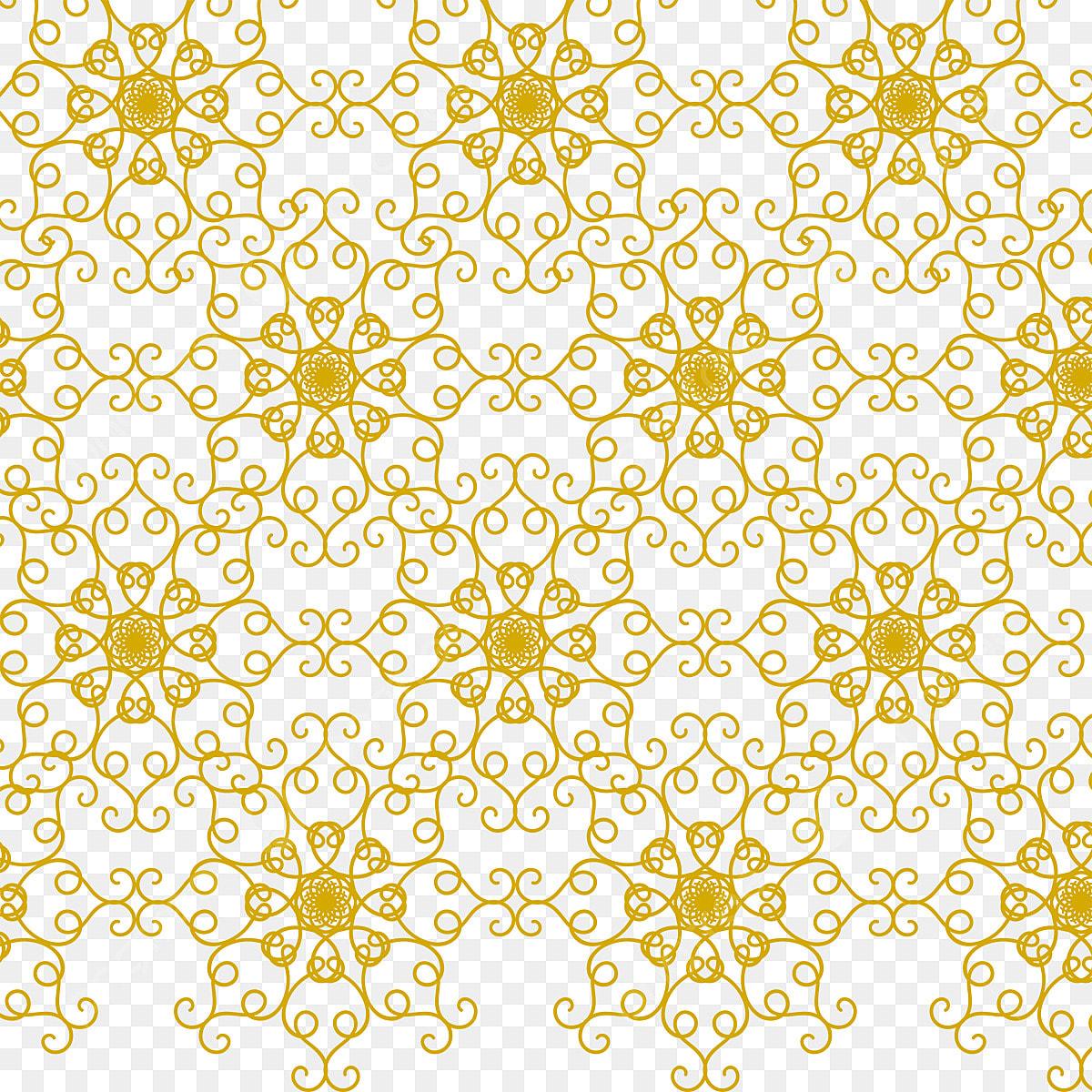 pngtree beautiful yellow pattern wallpaper background png image 3696297