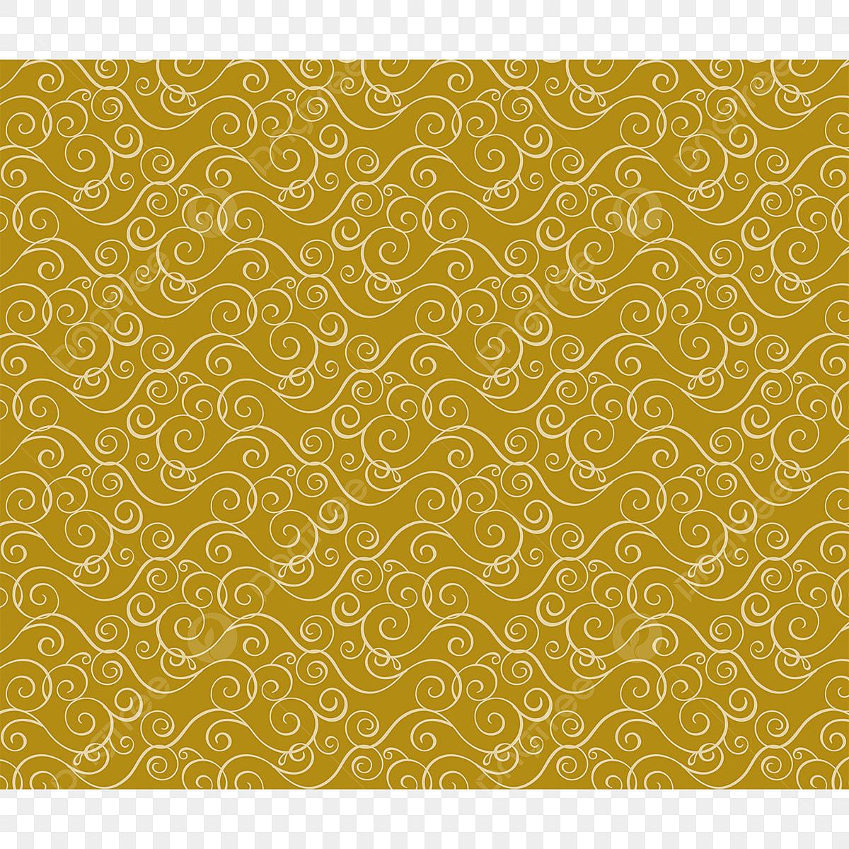 美しい黄色のパターンの壁紙要素 イエロー パターン 手描き芸術画像