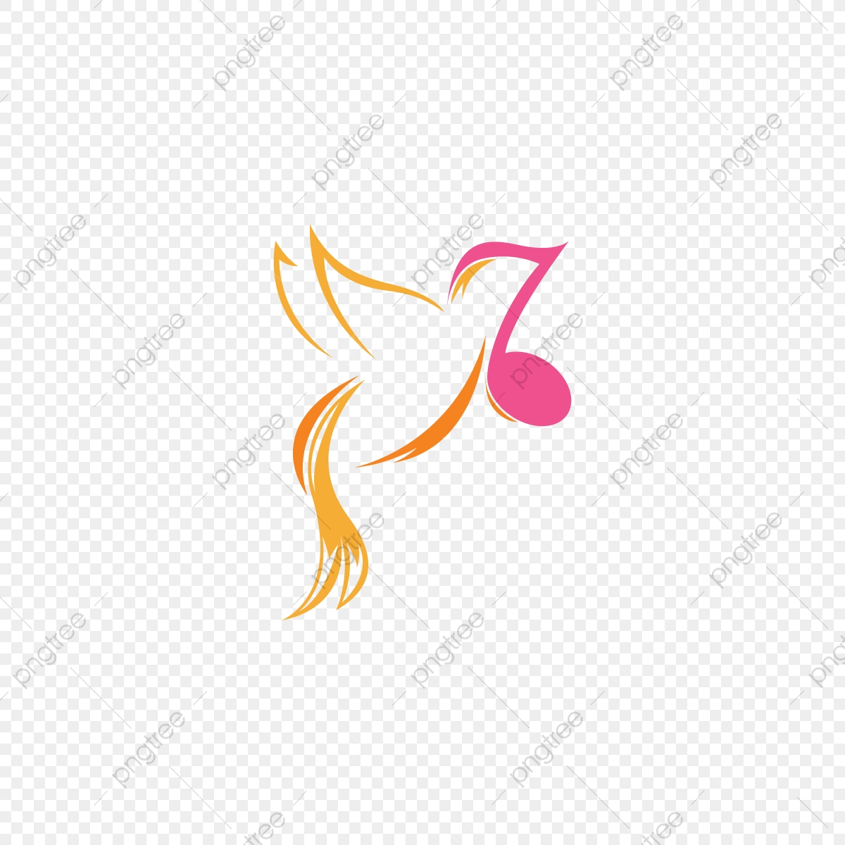 Bird Song Logo Design Png Bird Brand Branding Png And Vector With Transparent Background For Free Download