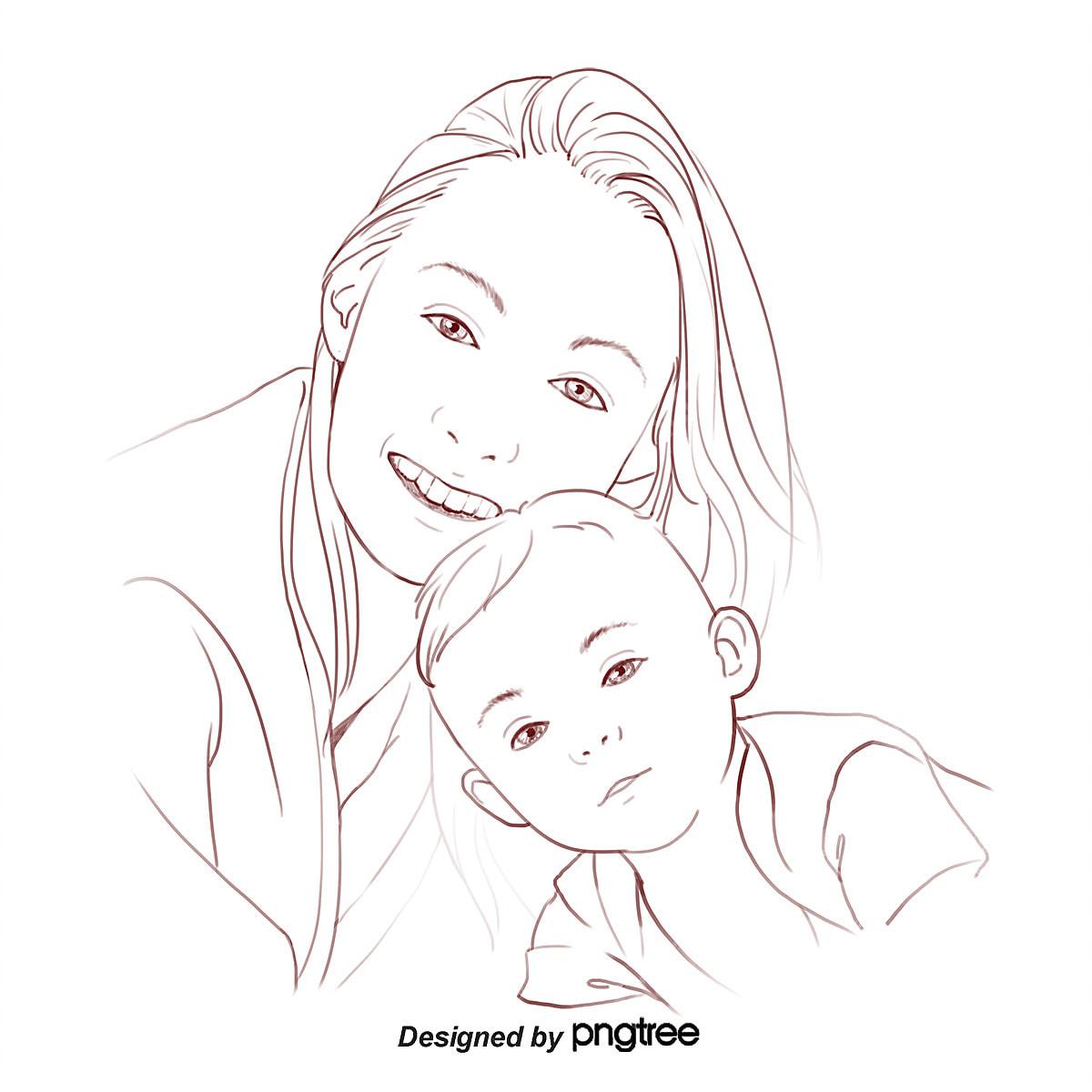 Weiße Mutter Schwarze Tochter