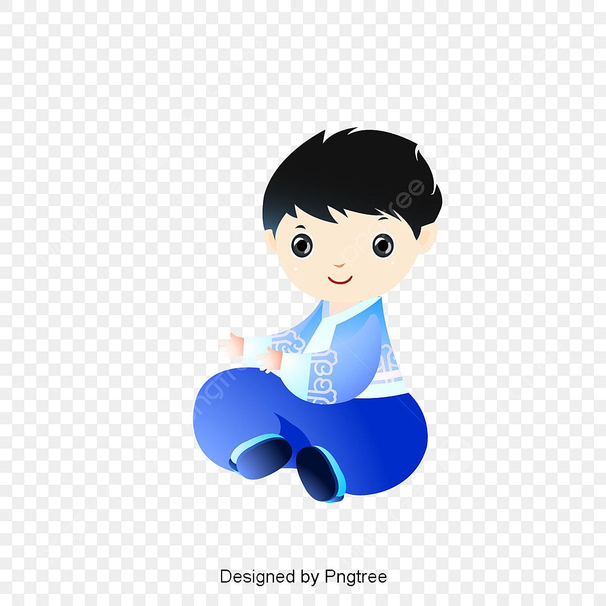 Gambar Kartun Anak Laki Laki Memakai Korea Pakaian Bentuk Anak Laki Laki Kartun Anak Laki Laki Gambar Kartun Png Dan Vektor Untuk Muat Turun Percuma