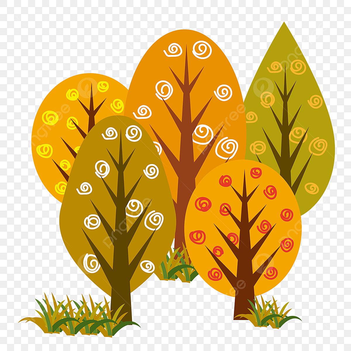 Desenho Feito A Mao Arvores Ilustracao Arvore Planta A Natureza