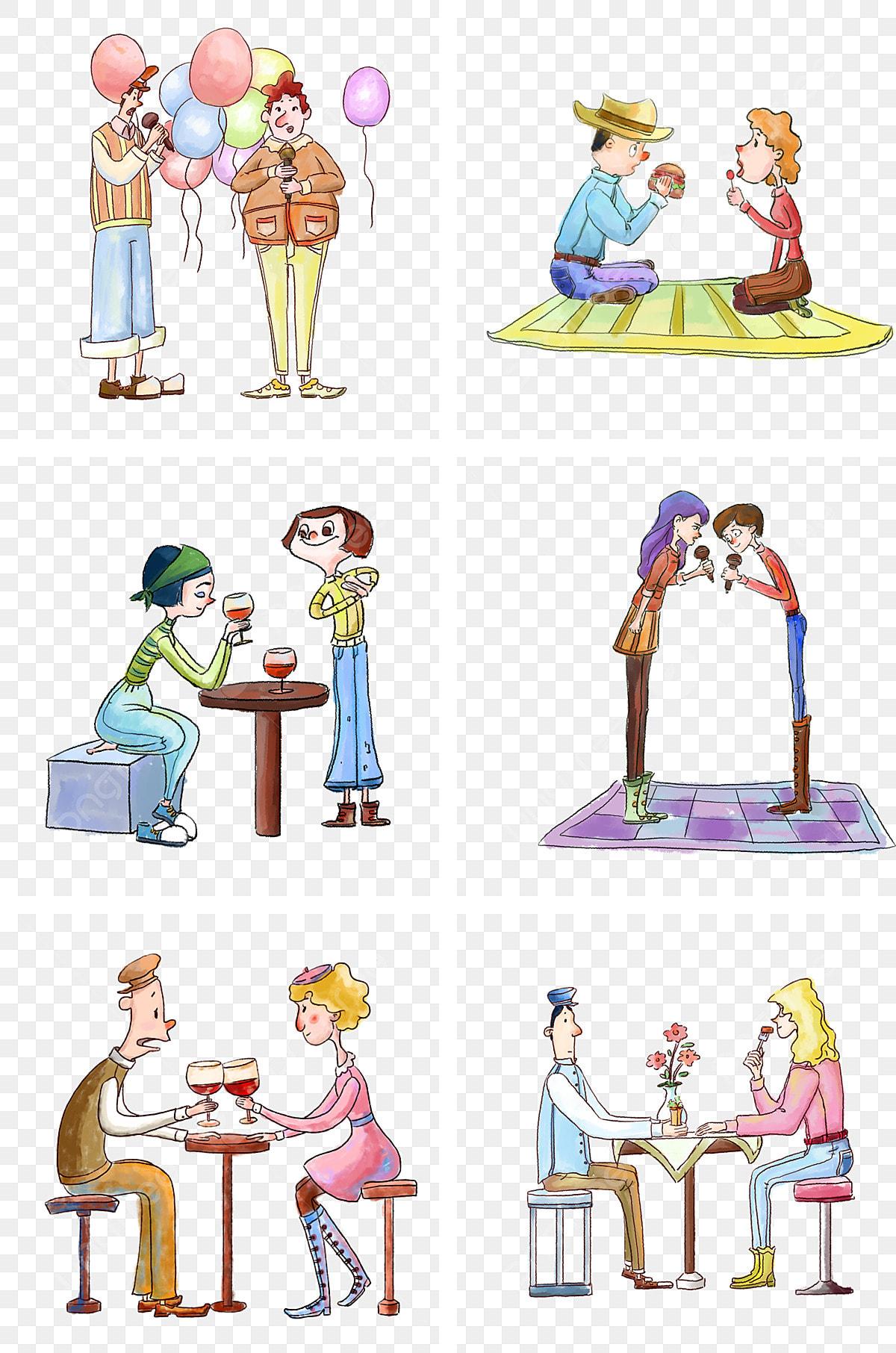 Dibujo Acuarela Color Poster Dibujado A Mano Personaje De Dibujos