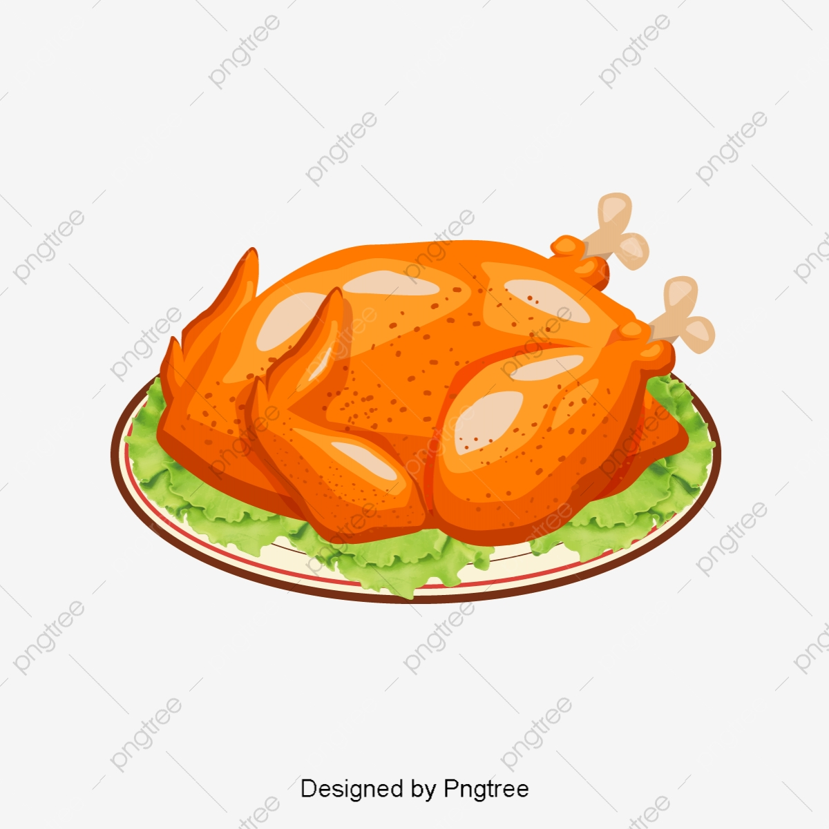 gambar gambar ayam panggang yang dilukis dengan tangan kartun kartun dilukis dengan tangan ayam panggang png dan vektor untuk muat turun percuma https ms pngtree com freepng cartoon hand painted roast chicken picture 3690269 html