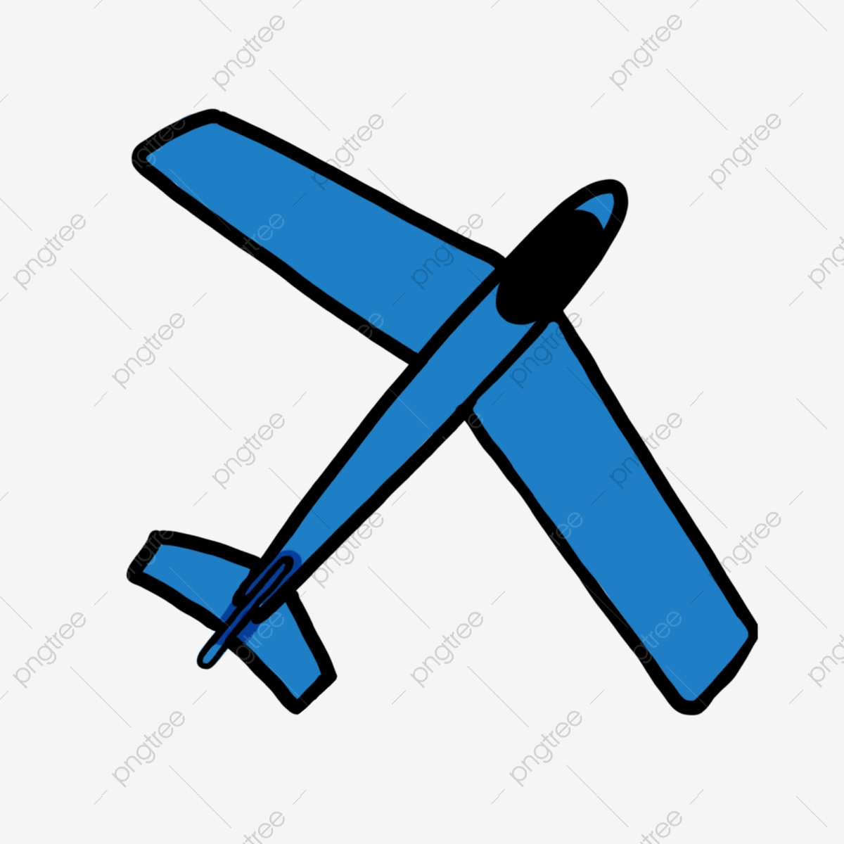 Cartoon Kids Toys Cartoon Hand Painted Color Childrens Drawing Aircraft Png Transparent Clipart Image And Psd File For Free Download