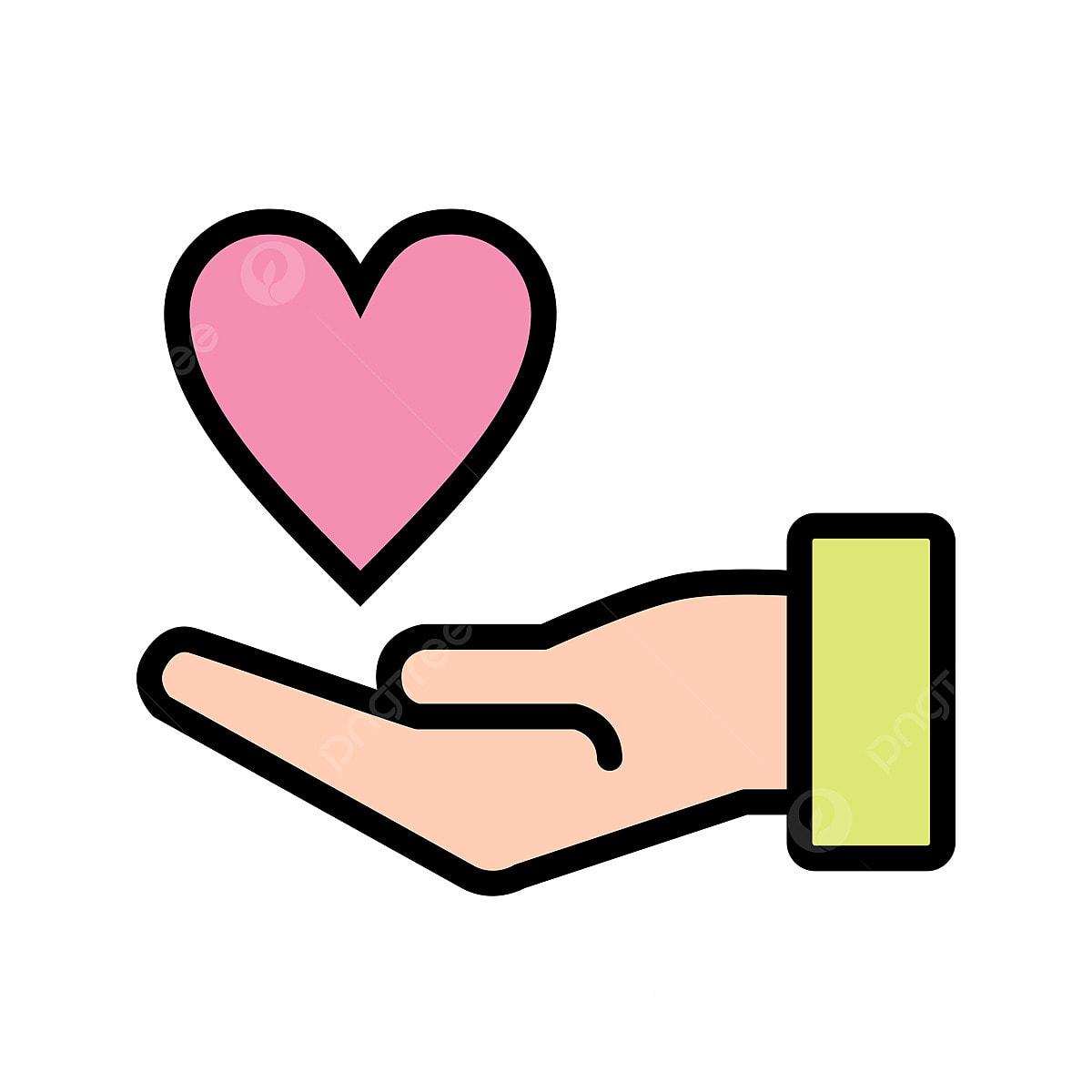 organisme de bienfaisance ic u00f4ne organisme de bienfaisance donnez le c u0153ur sur la main png et