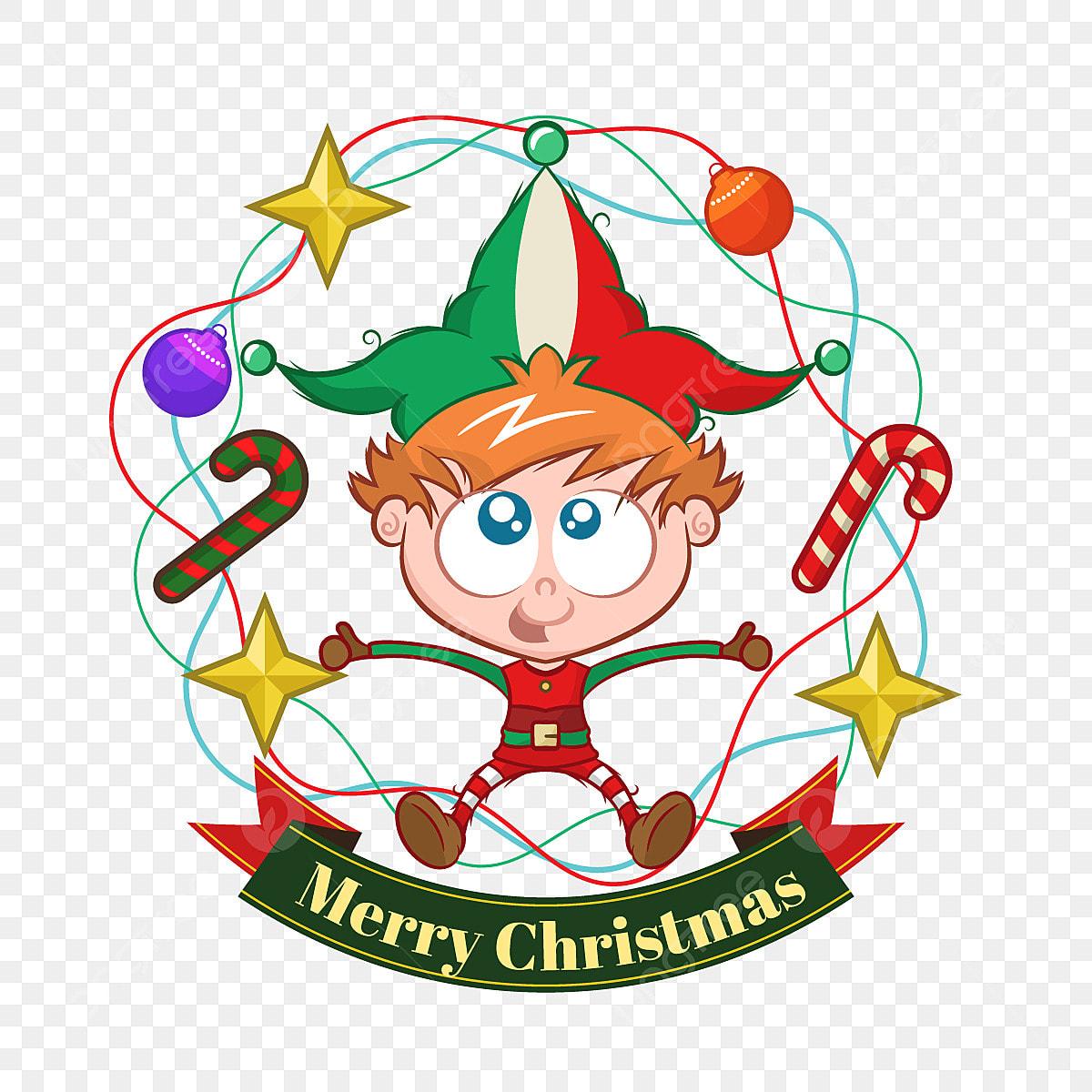 Lelfe De Noël Passé Avec Lui Noël Joyeux Illustration
