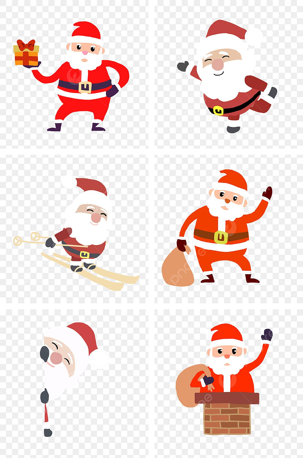 De Noël Dessin Animé Dessiné à La Main Simple Warm Couleur