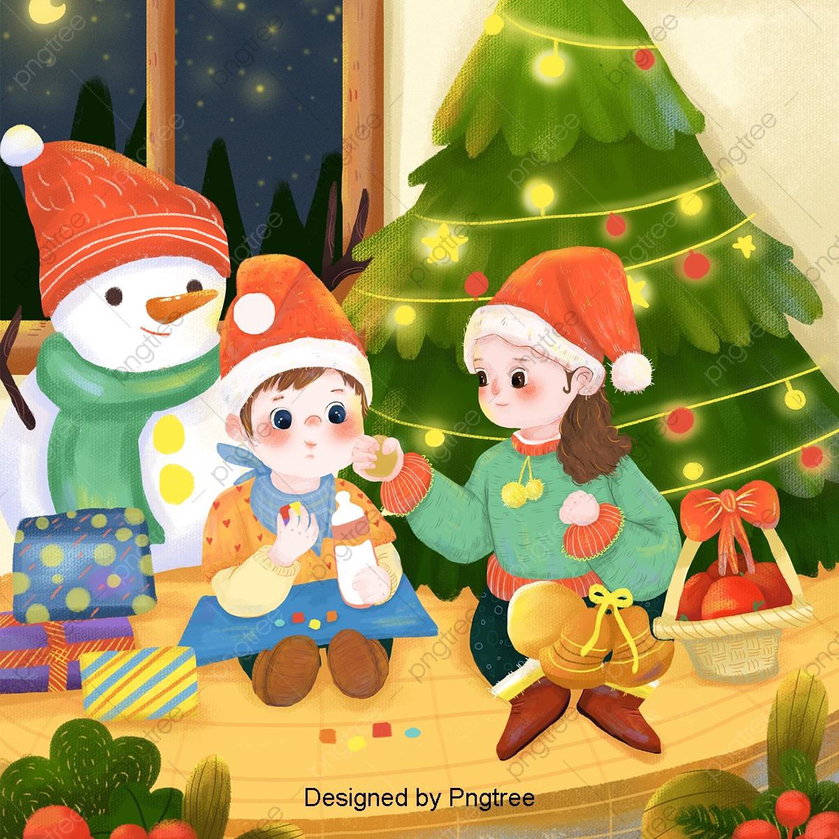 Christmas Celebration Cartoon Images.Christmas Celebration And Festival Cartoon Xie And