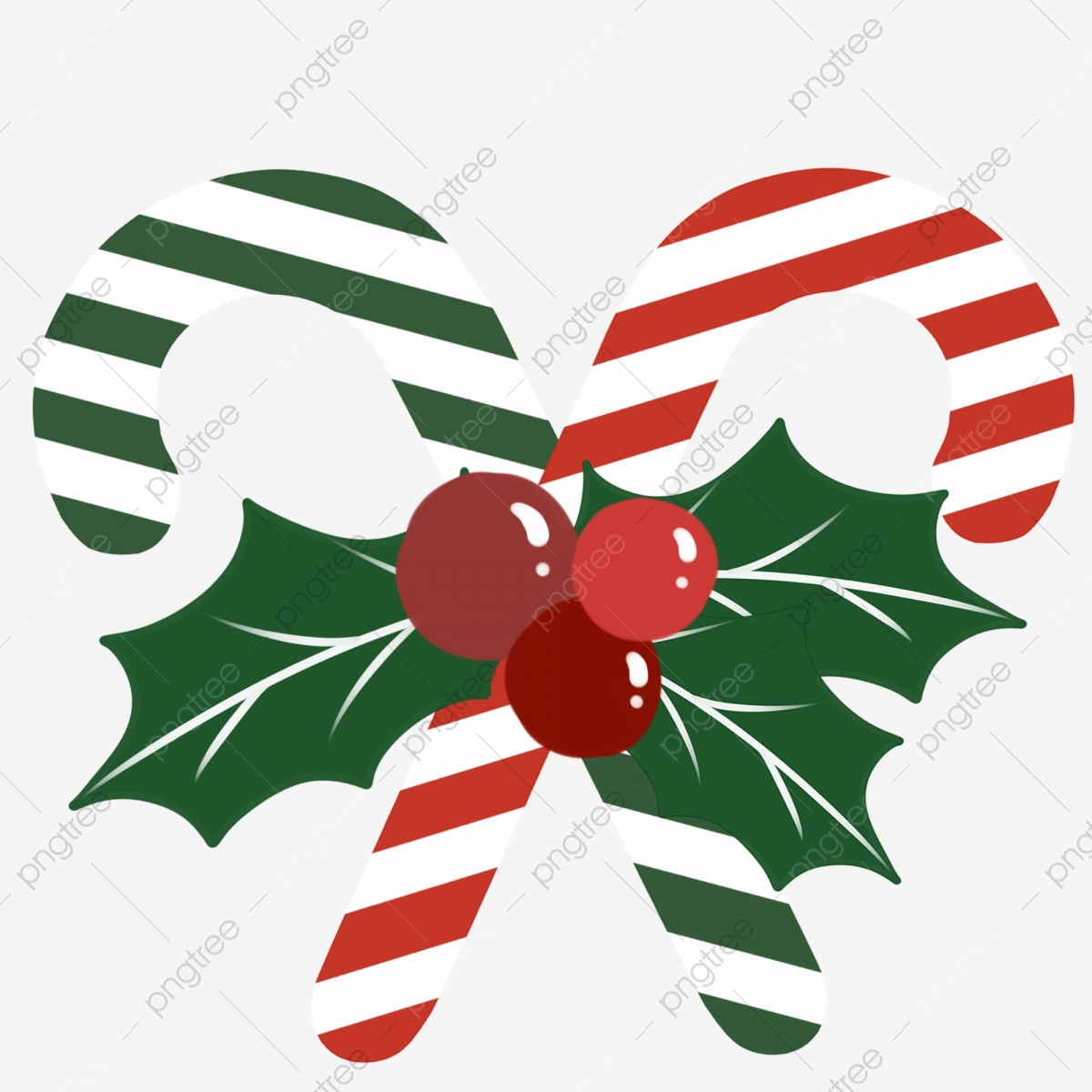 Regalo De Navidad Dulces Navideños Dibujado A Mano De
