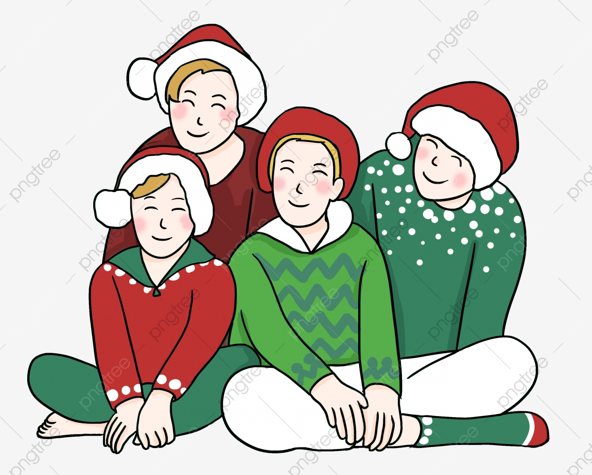 Krismas Keluarga Krismas Berdandan Krismas Merry Christmas