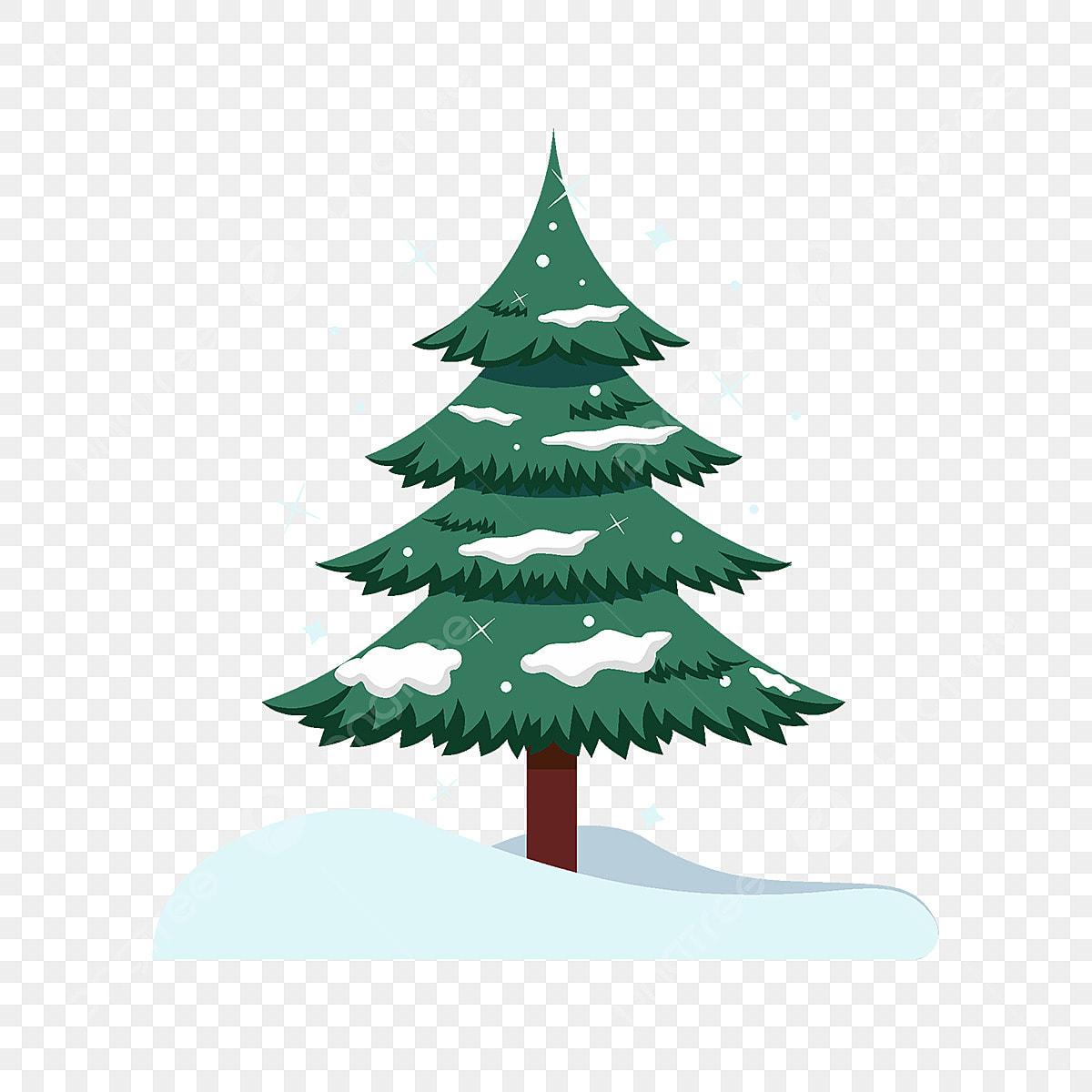 Weihnachtsbaum Clipart.Weihnachtsbaum Element Schneeflocke Dekorative Süß Png Bild Und