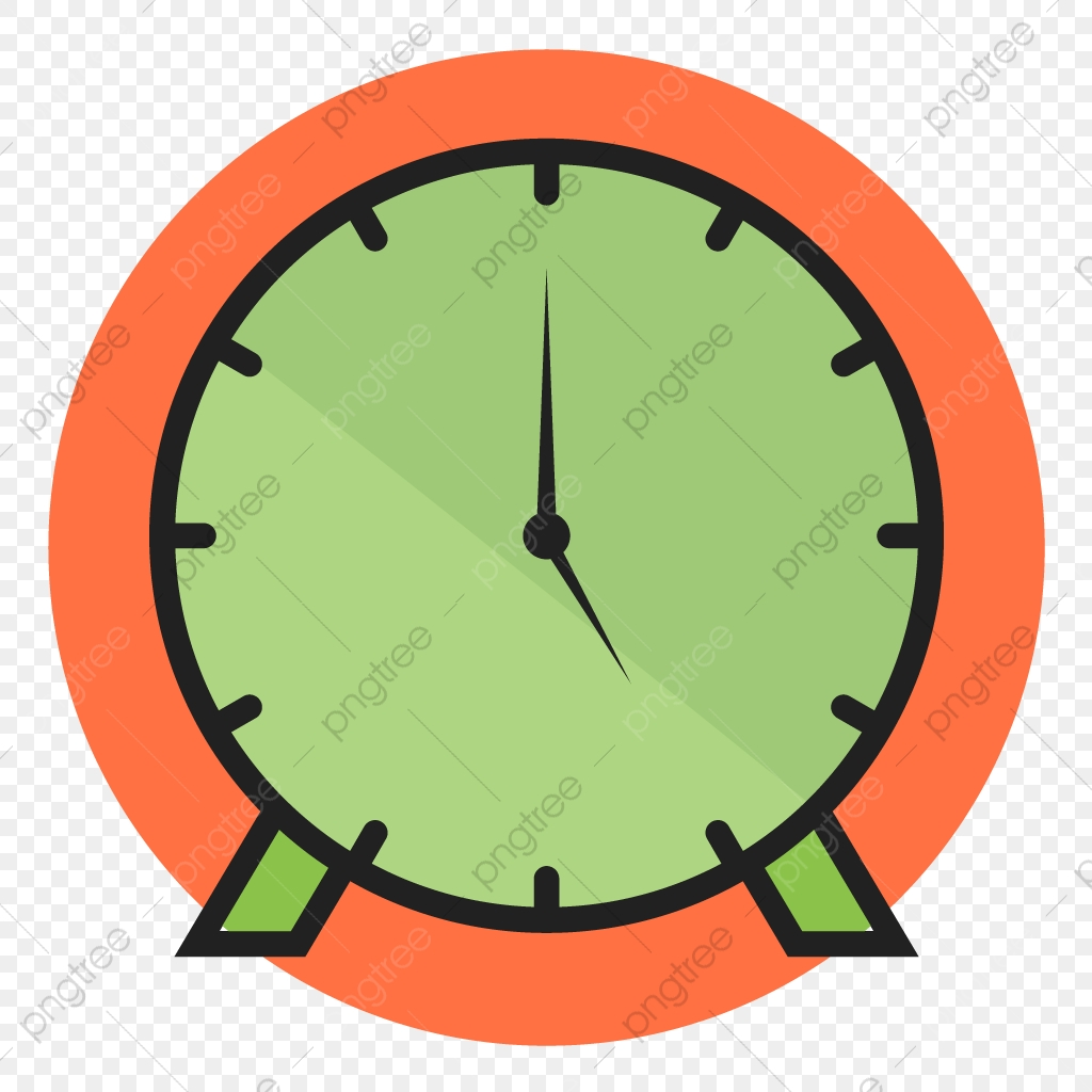 Clock Line Filled Icon, Clock, Time, Timer PNG and Vector