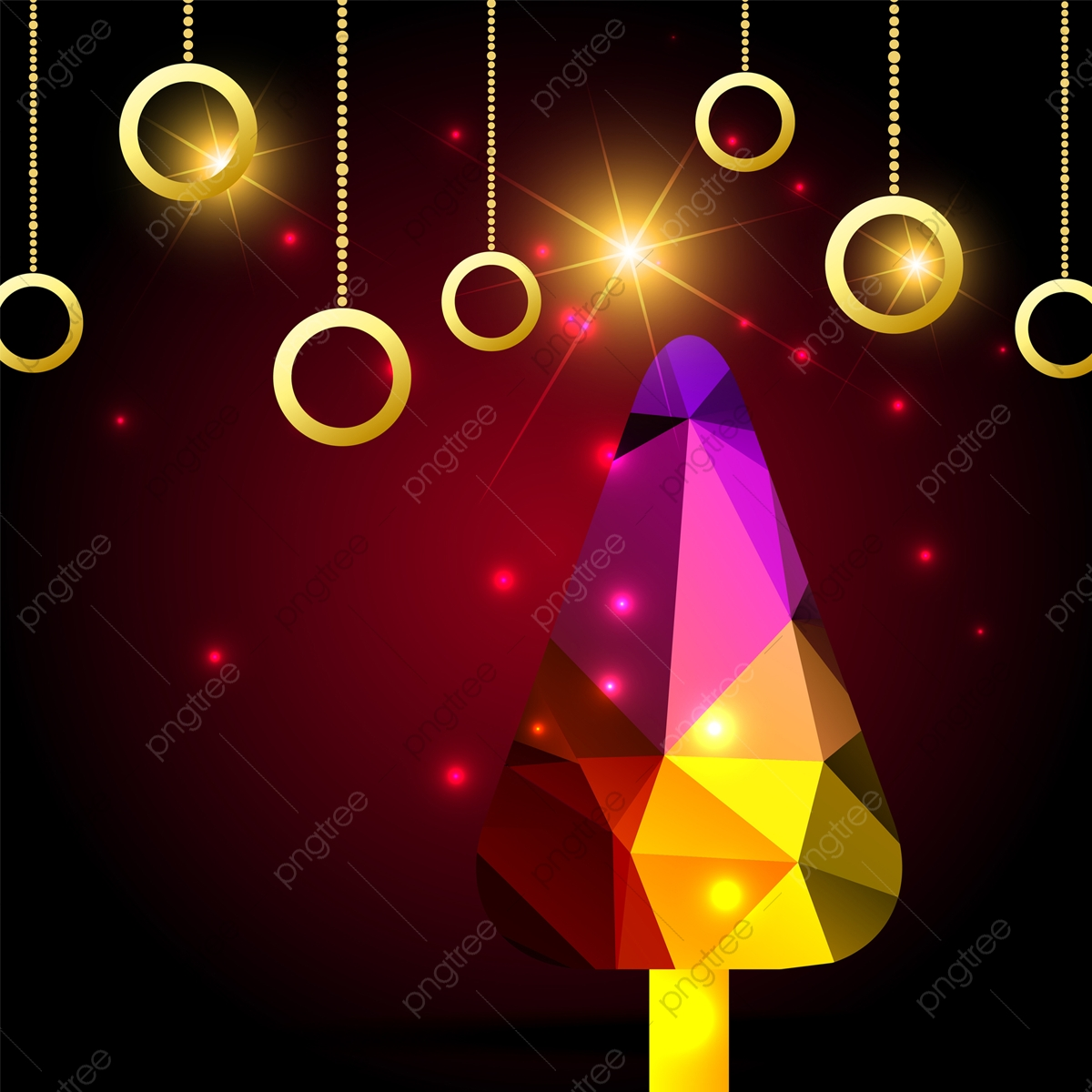 Colorful Christmas Background Design.Colorful Christmas Tree Background Design Christmas