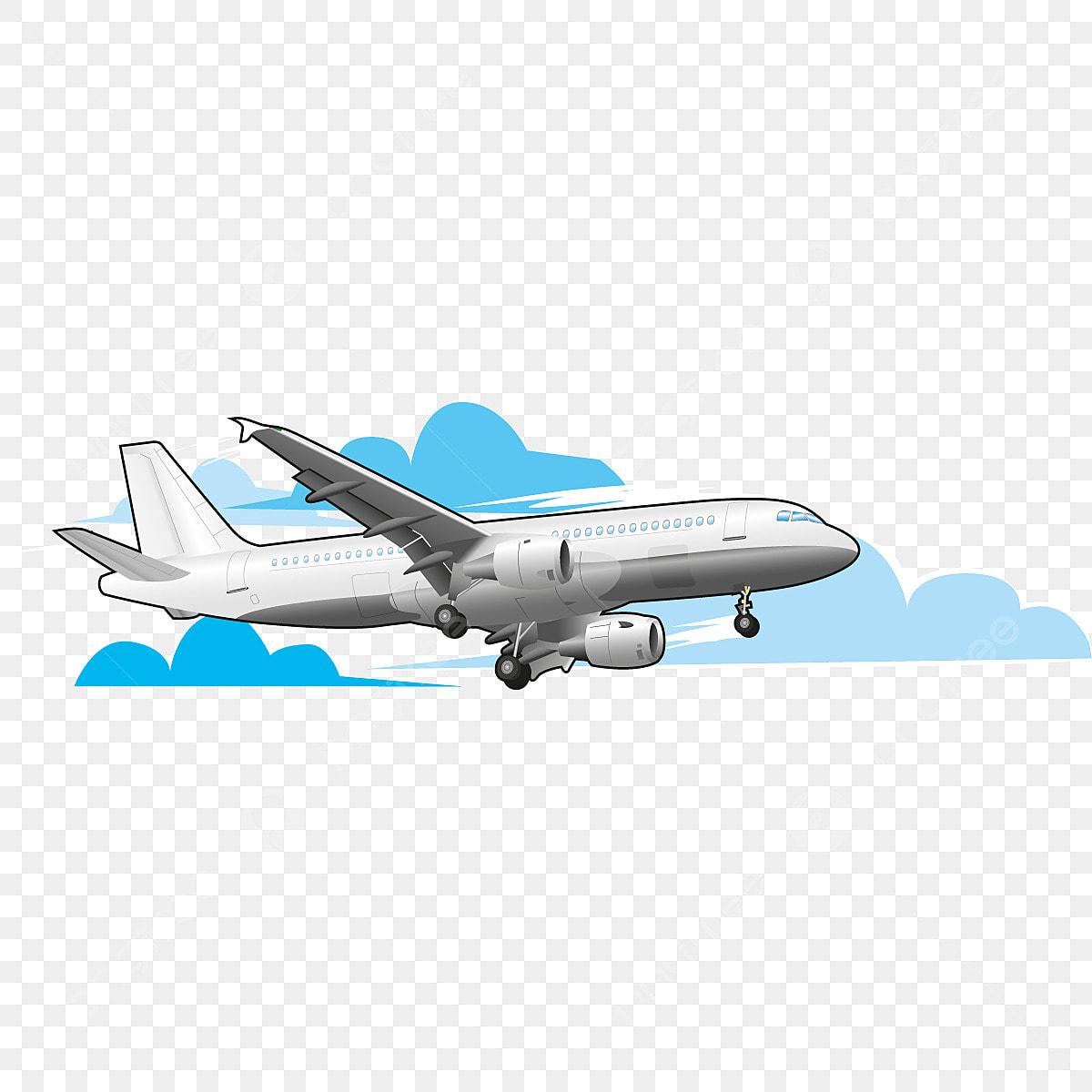 Komersil Pesawat Udara Vektor Pesawat Udara Png Dan Vektor Untuk