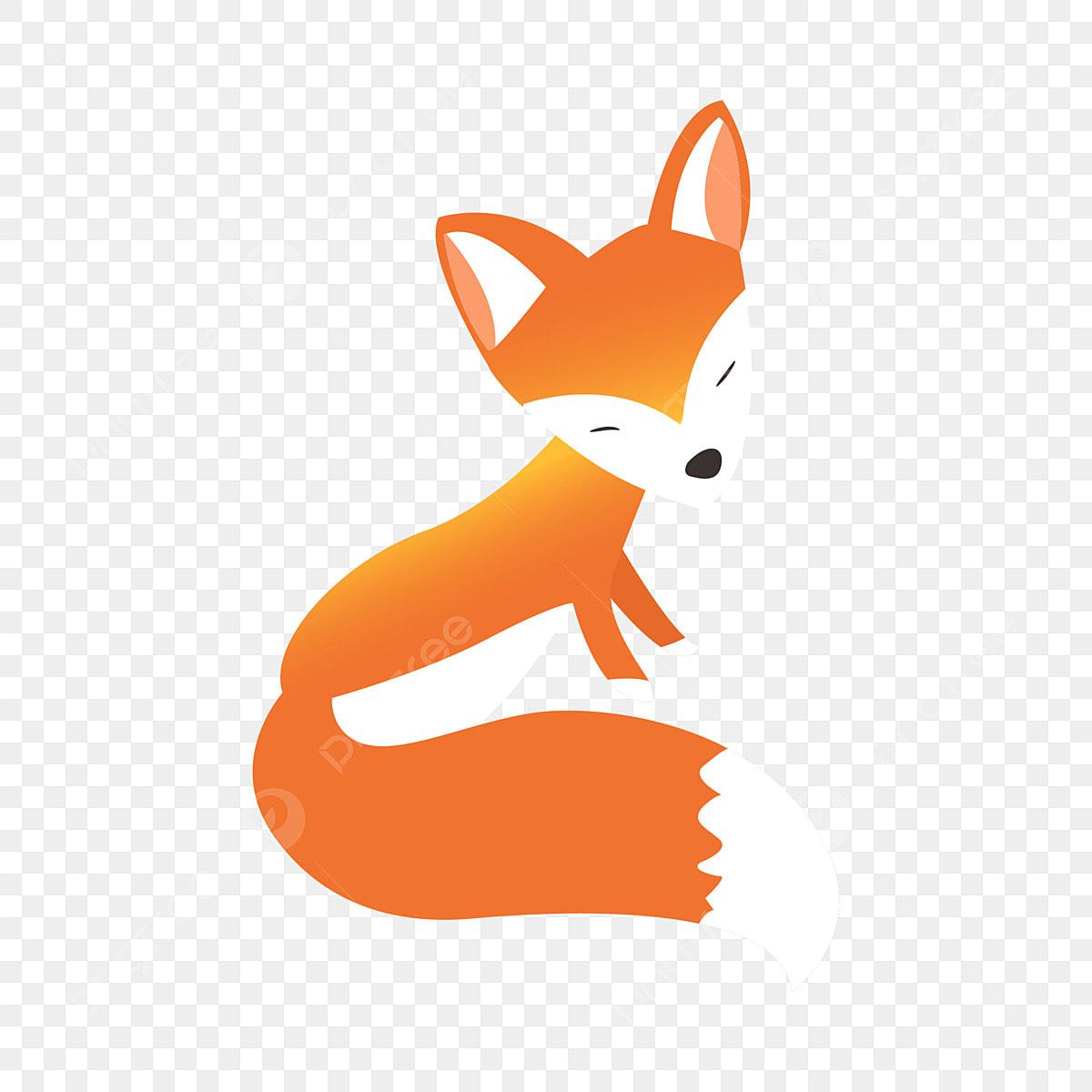 Raposa Raposa Dos Desenhos Animados Animal De Estimacao Bonito