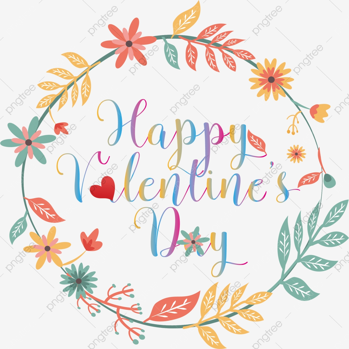 English Alphabet Wordart Colored Border Lace Valentines Day