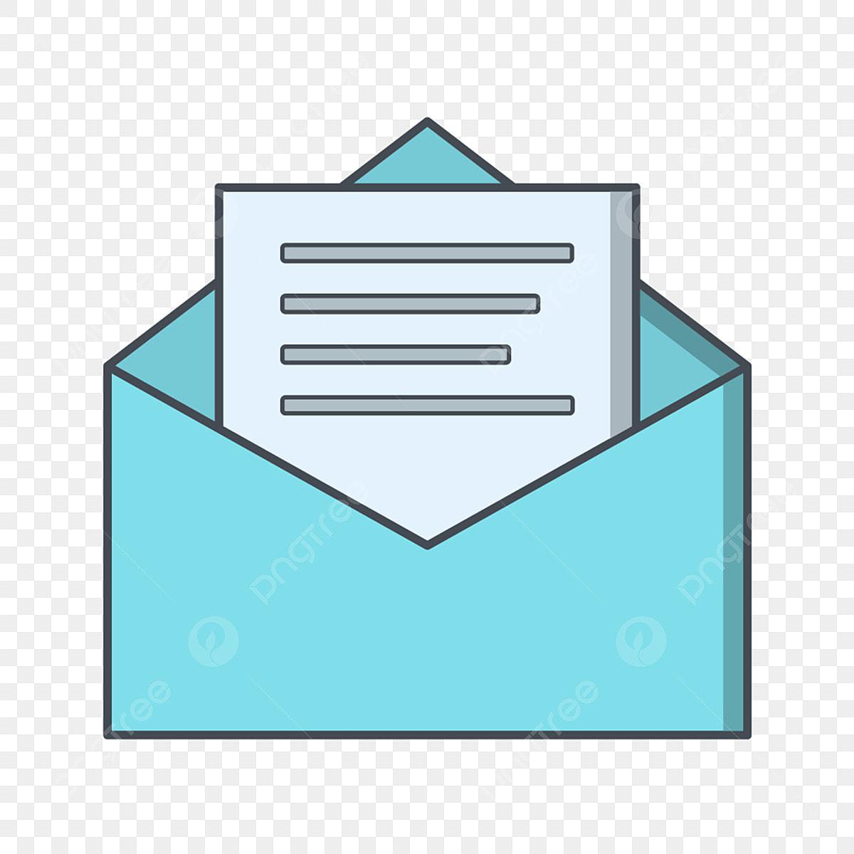 Sampul Surat Vektor Ikon Bentuk Amplop Sampul Surat Ikon