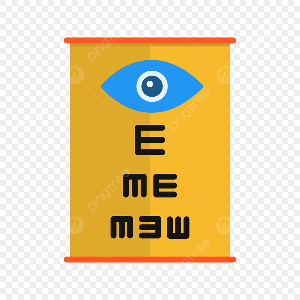 vector de testare a ochilor)