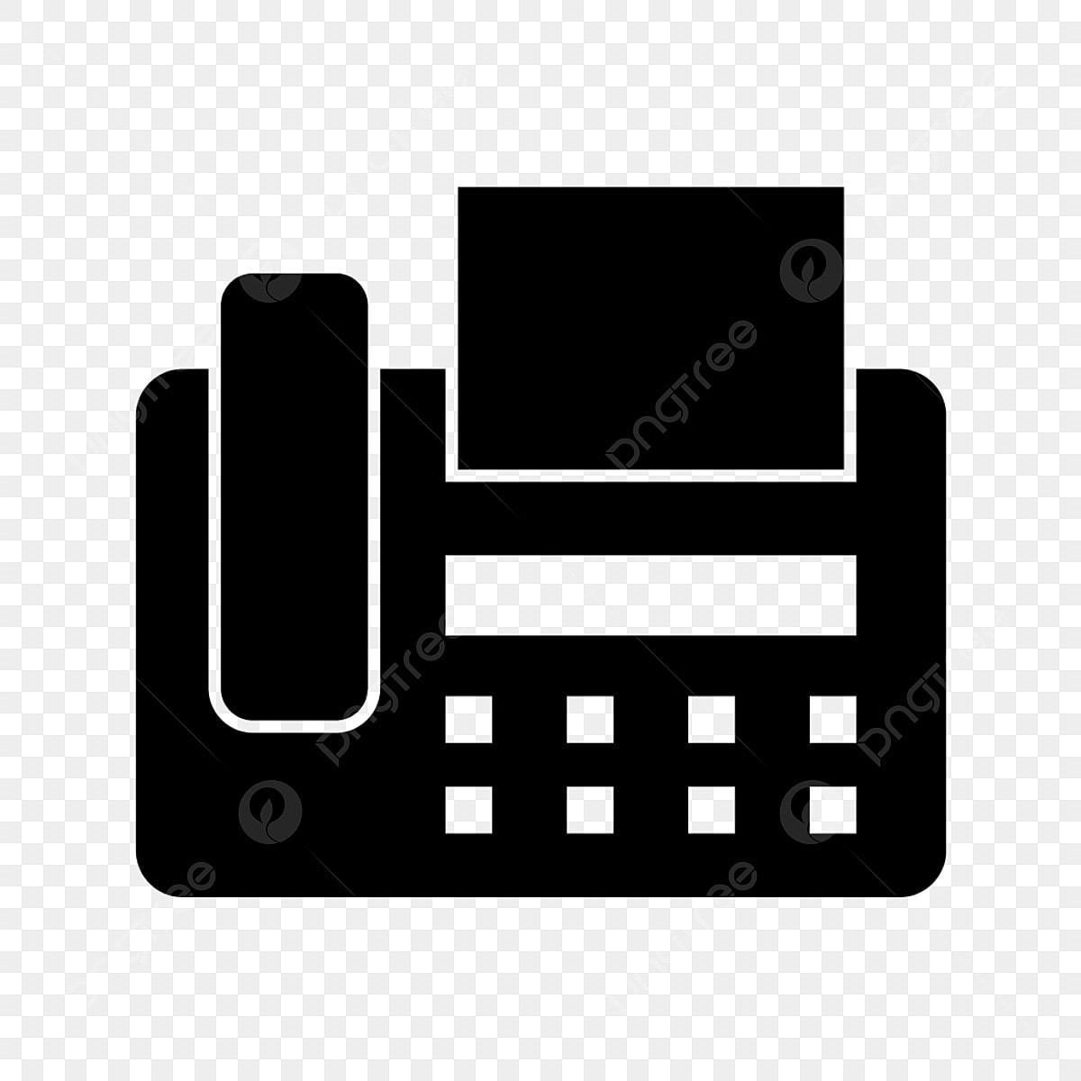 Fax Machine Glyph Black Icon, Fax Machine, Fax, Machine -4044