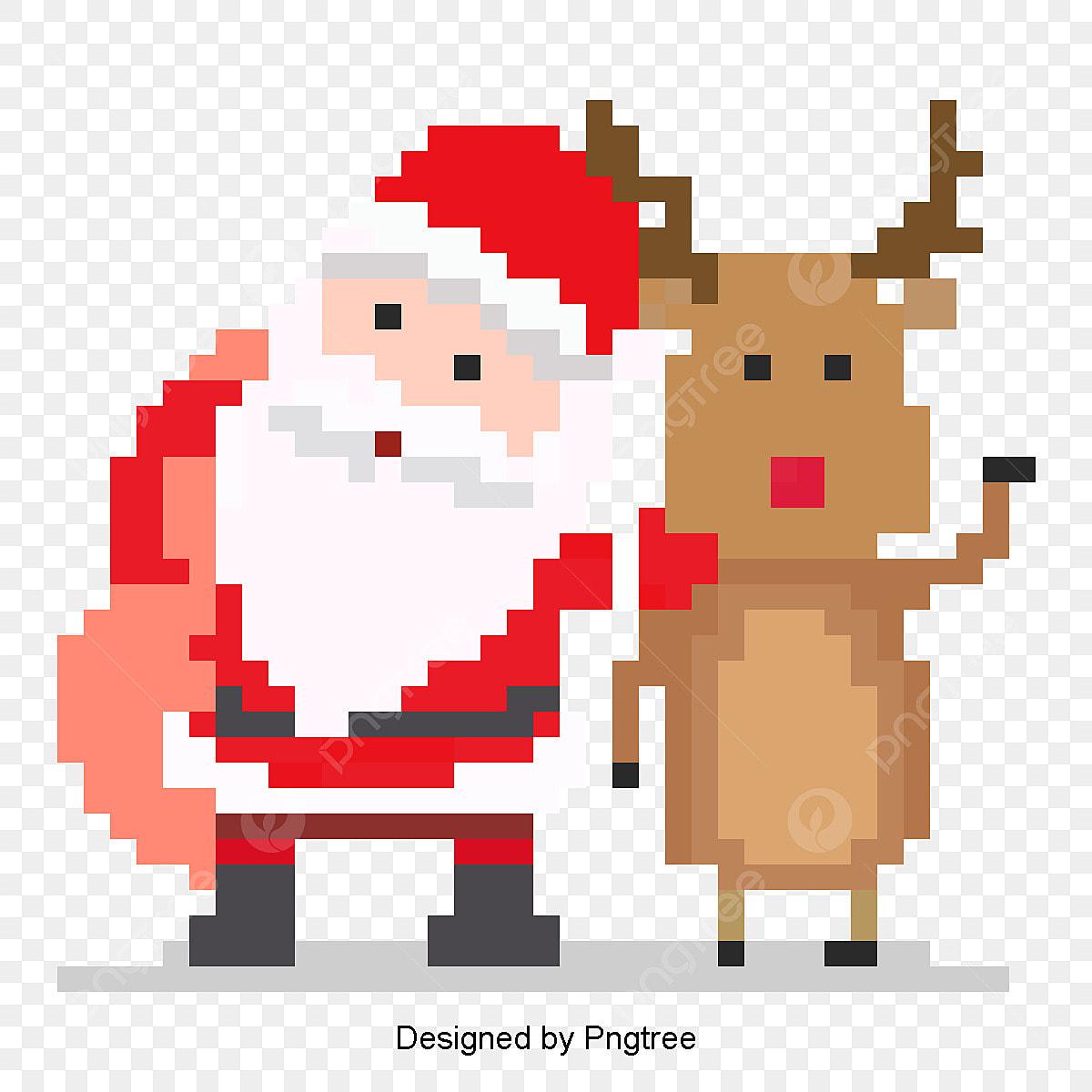 Le Père Noël Adorable Quatre Le Père Noël Fichier Png Et