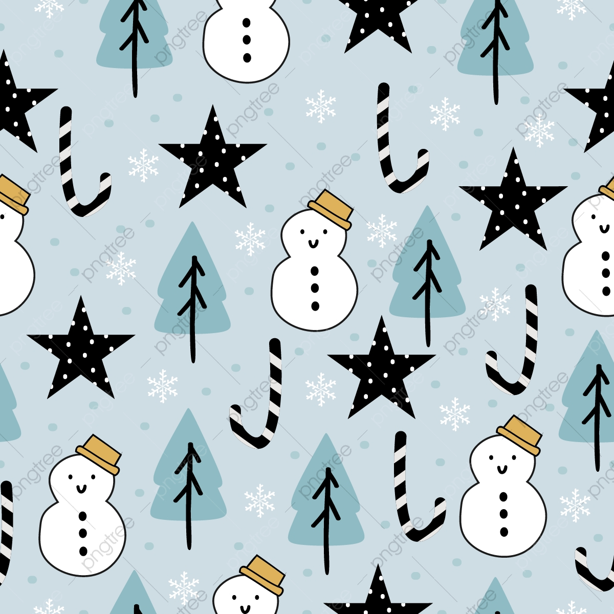 Funny Christmas Pattern For Baby And Kids Fashion Christmas Seamless Pattern Png And Vector With Transparent Background For Free Download