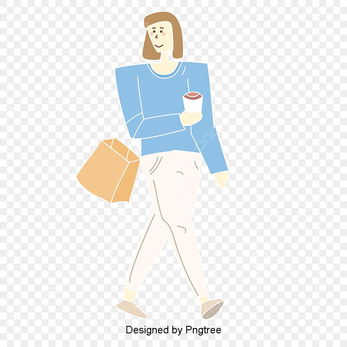 女の子の生活状態簡単な手描きのイラストキャラクター イラスト アニメ