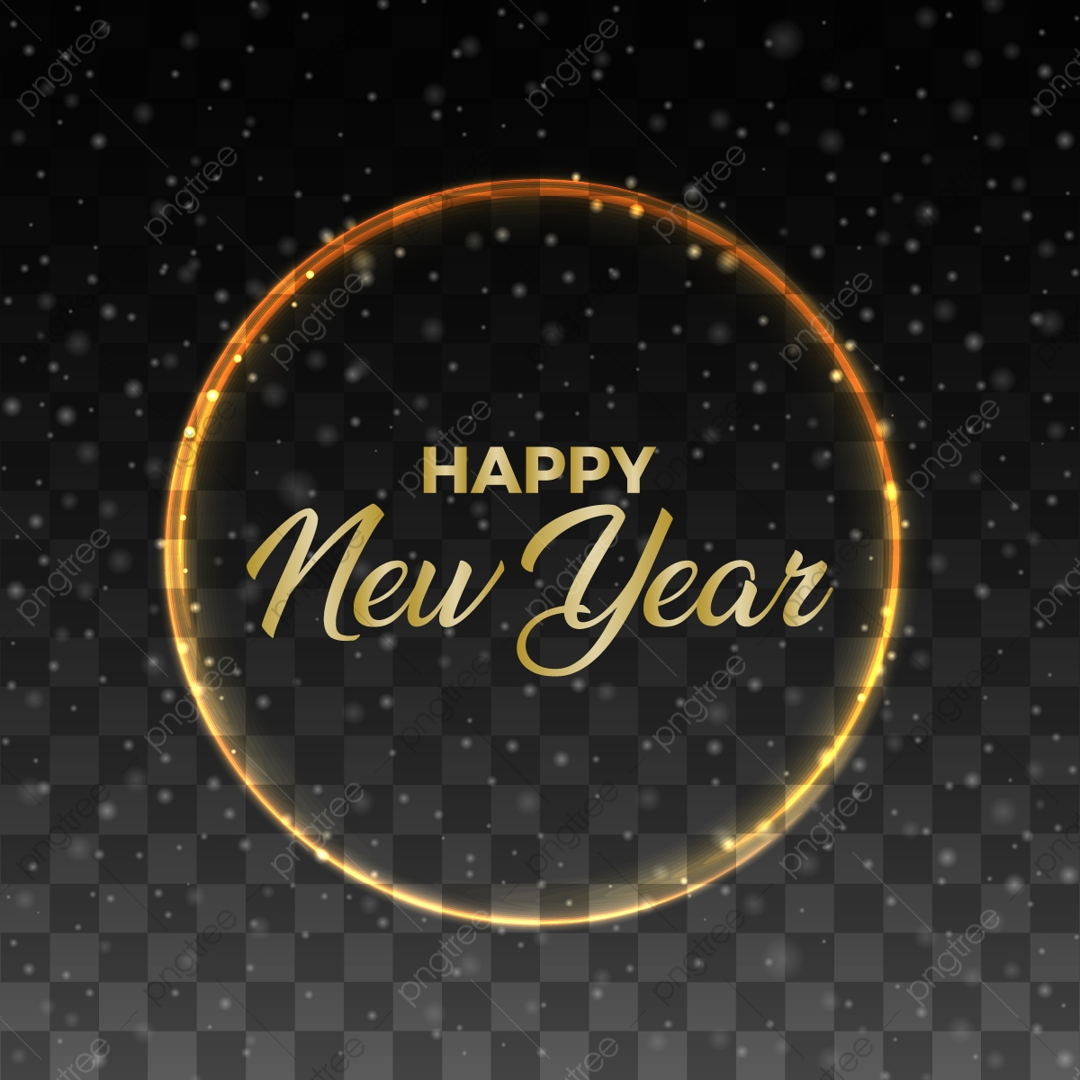Happy New Year Transparent Background 50