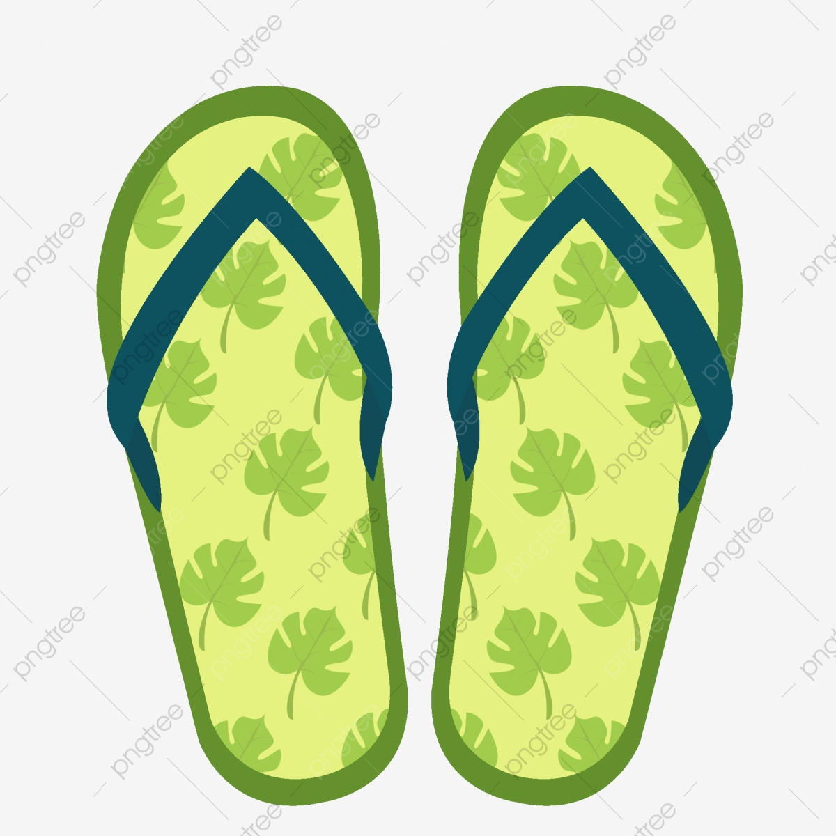 Green Flip Flops Beach Slippers Beach Shoes Summer Flip Flop Beach Summer Png Transparent Clipart Image And Psd File For Free Download