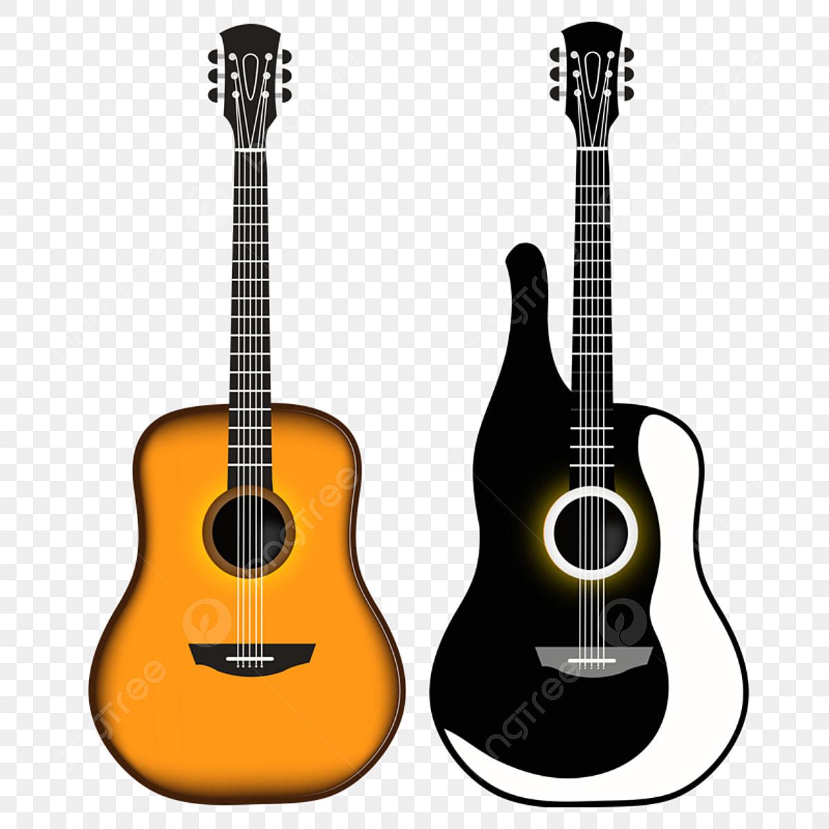 стильная гитара пнг картинка